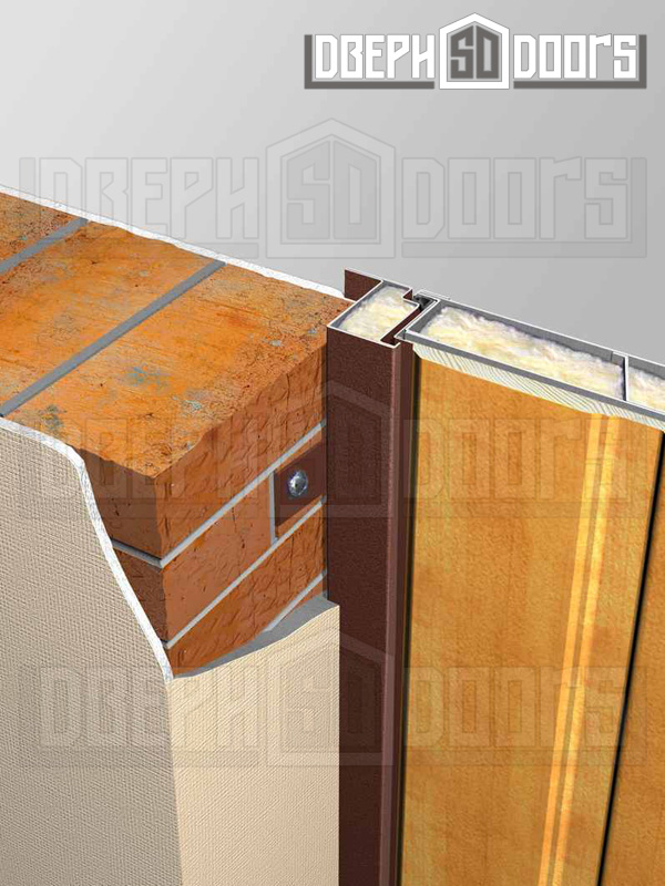Установка дверей металлических