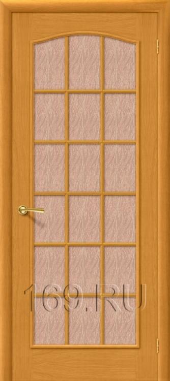 дверь металлическая натуральный шпон