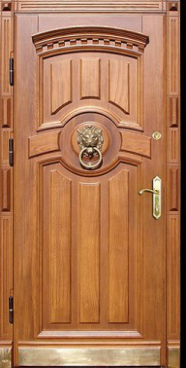 Обшивка дверей железных дверей
