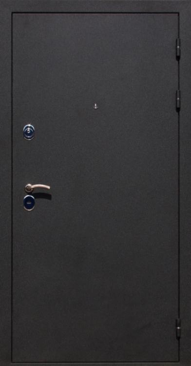 дверь железная входная черный метал