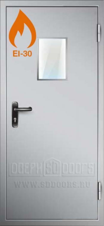 дверь металлическая противопожарная в п