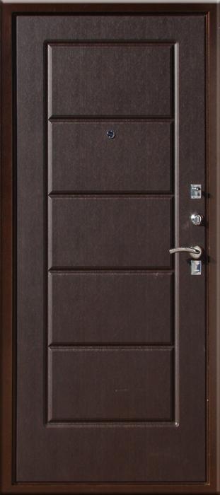 стальные двери цвета венге