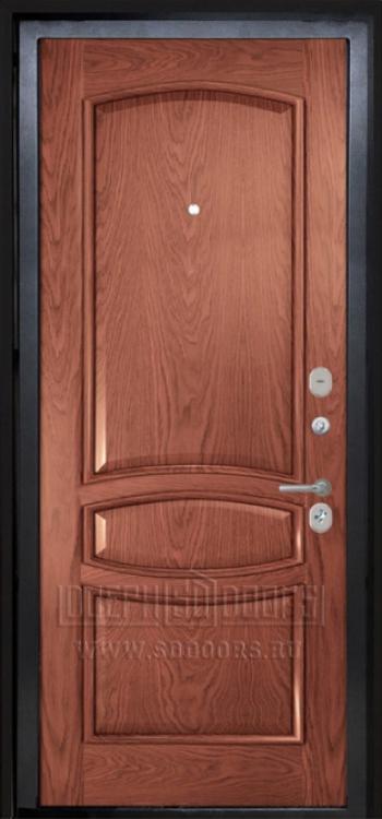 входные двери классика красное дерево